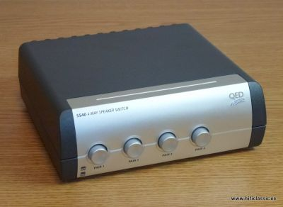 QED SS40  4-Way Speaker Switch