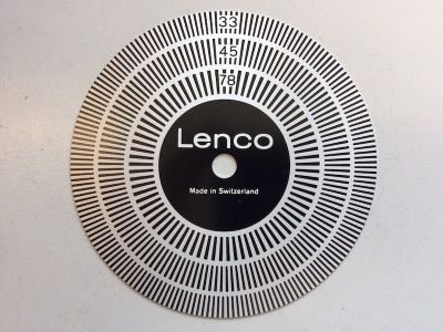 Lenco Strobe Disc